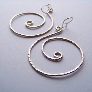 Ohrringe Spirale